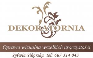 Dekoratornia logo, kontakt